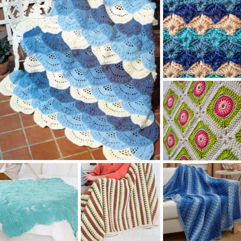 Summer Crochet Ideas 7 Lightweight Afghan Patterns Stitch And Unwind