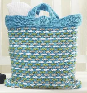 Summer Escape Knit Bag