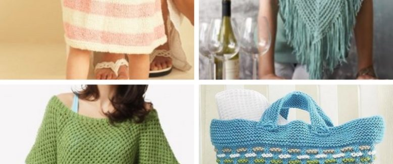 Summer Knits: 24 Free Printable Knitting Patterns for Summer