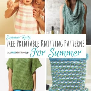 Summer Knits: Free Printable Knitting Patterns for Summer
