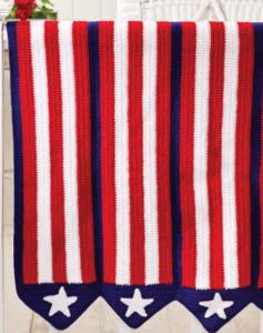 Stars and Stripes Afghan