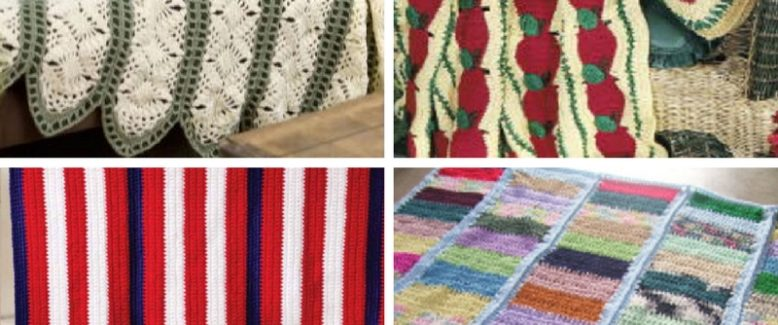 Mile a Minute Crochet: 7 Crochet Afghan Patterns
