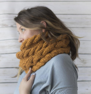 Cora Cable Knit Cowl