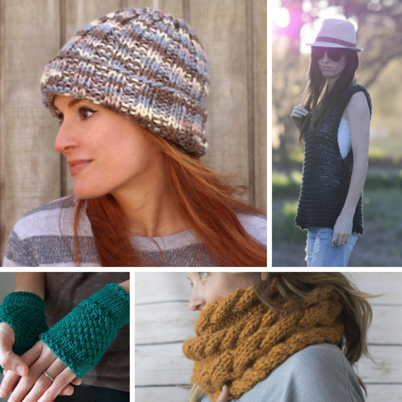 Straight Needle Knitting: 30 Easy Knitting Patterns - Stitch