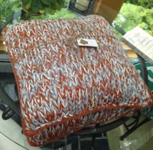 Chunky Knit DIY Pillow