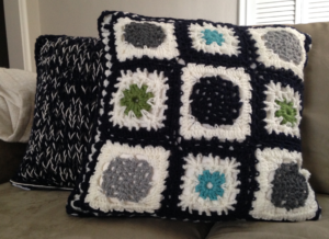 Crochet Pillow Top
