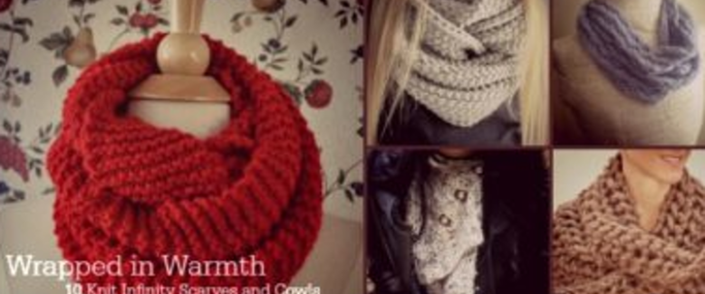 Wrapped in Warmth: 10 Knit Infinity Scarves and Cowls