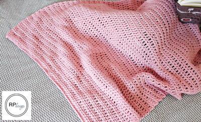 Sweet Simplicity Crochet Blanket
