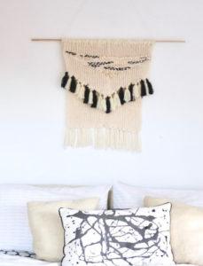 No-Knit DIY Wall Hanging