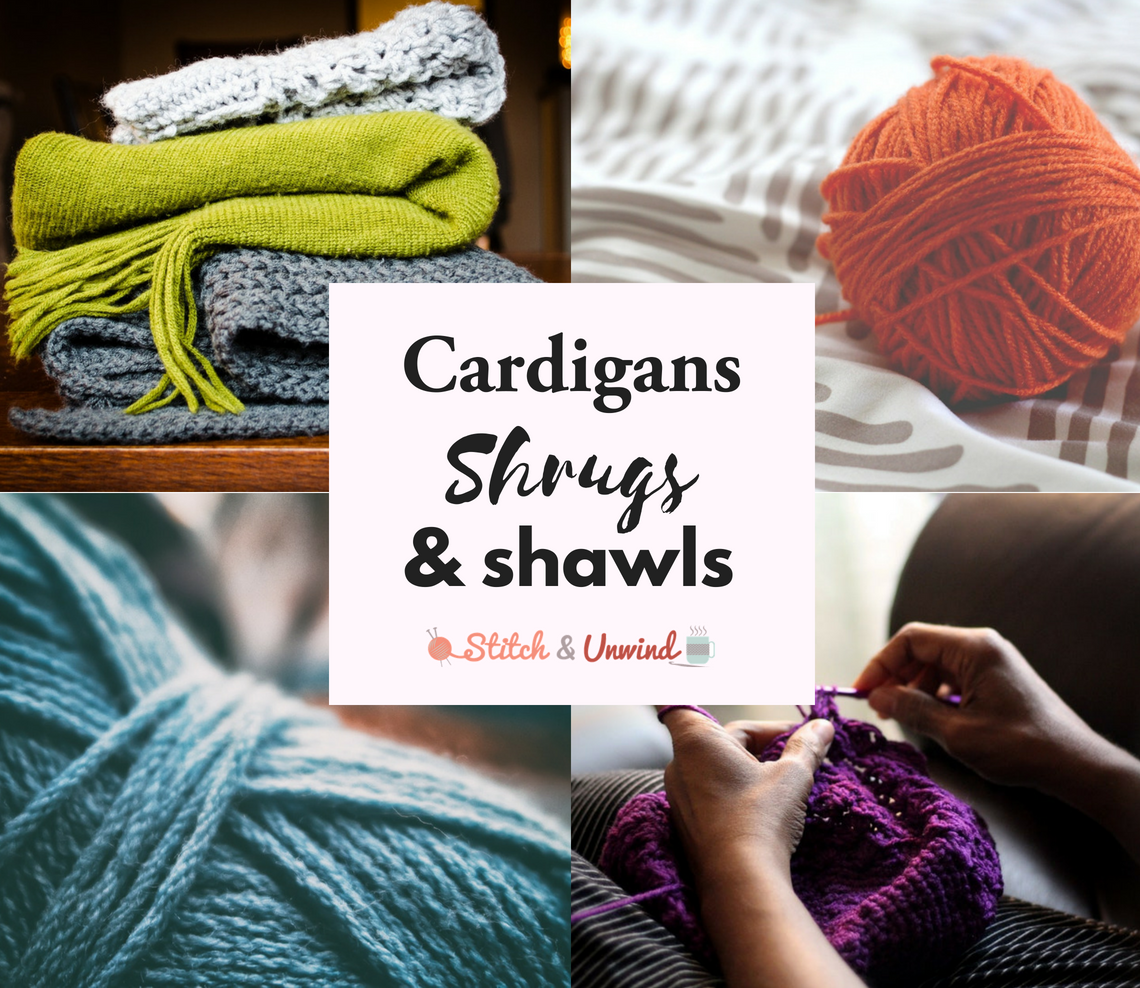Free Patterns: Cardigans, Shrugs, and Shawls, oh my! - Stitch and Unwind
